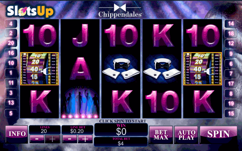 Chippendales Slot Machine