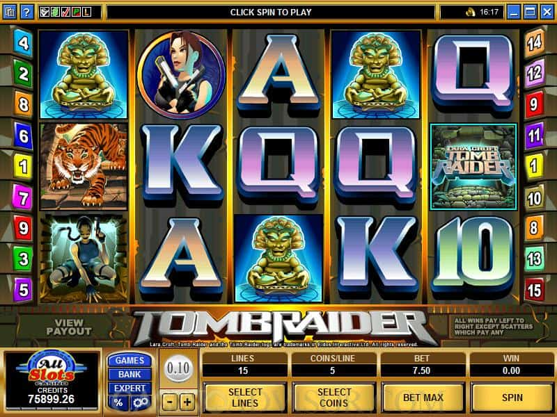 Tomb Raider Slot Machine Review