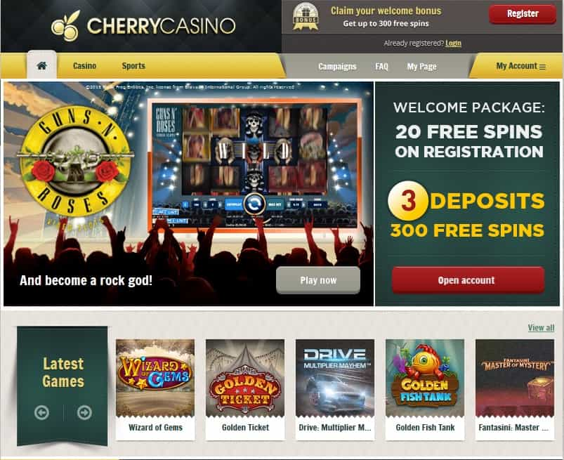 cherry jackpot casino complaints