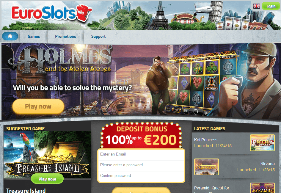 Euro Slots Casino Review