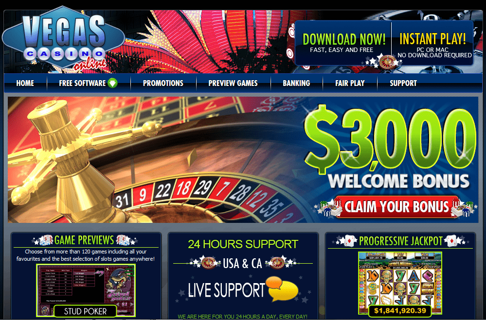 Vegas Casino Online Review – Online Casino Reviews