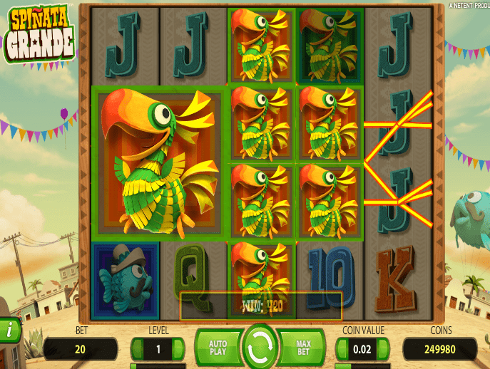 spinata grande slot review - 2