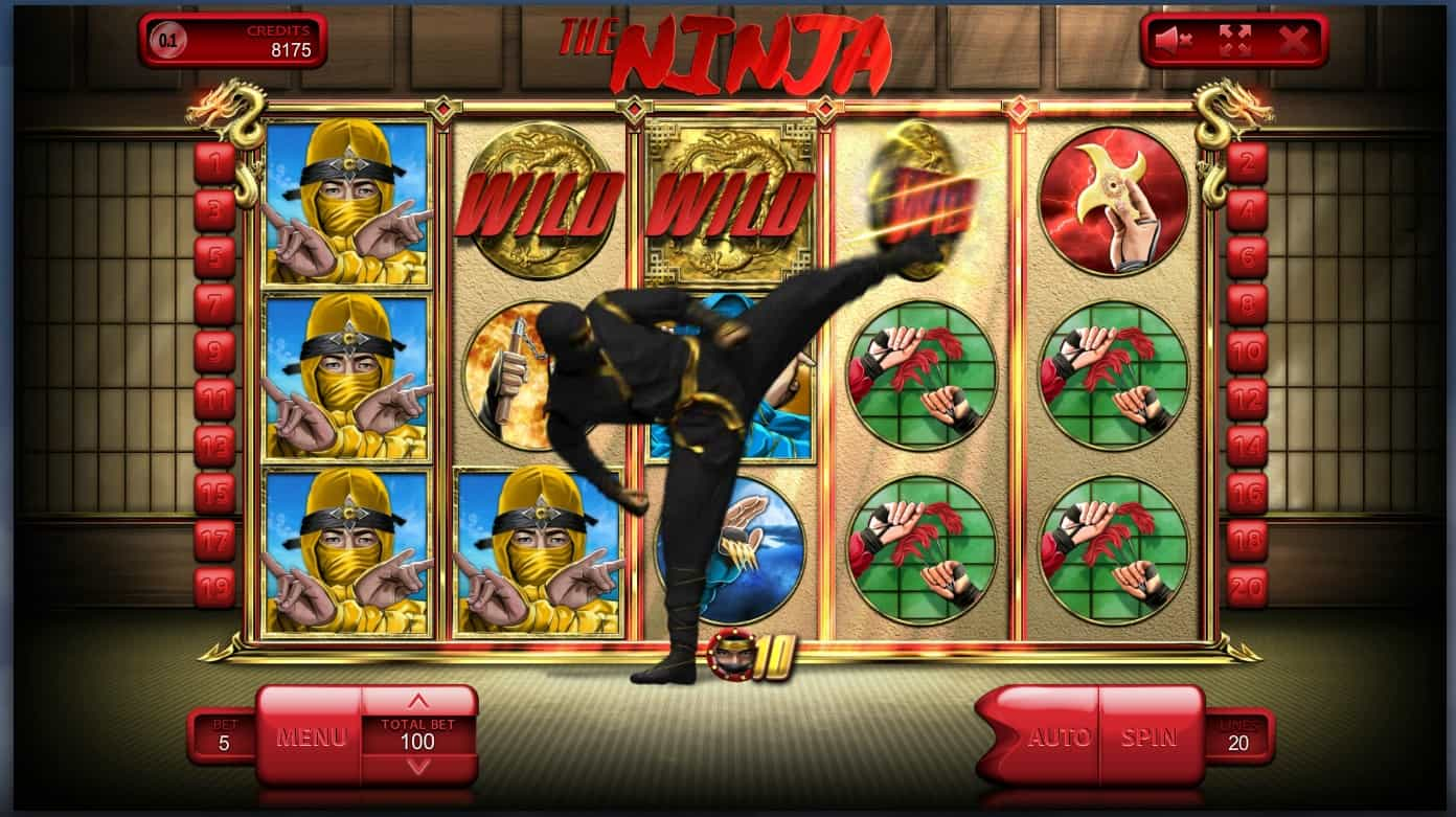 The Ninja Online Slot Review Yes No Casino