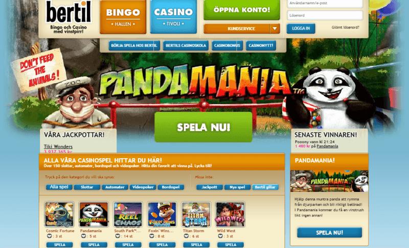 Bertil Casino Review