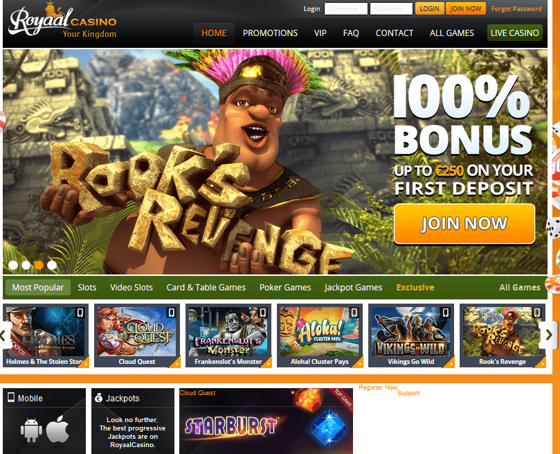 Royaal Casino Review