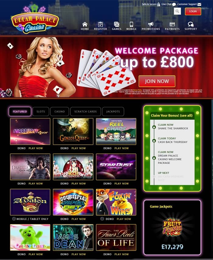 the palace online casino review