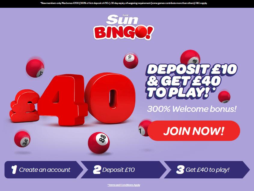 Sun Bingo Review