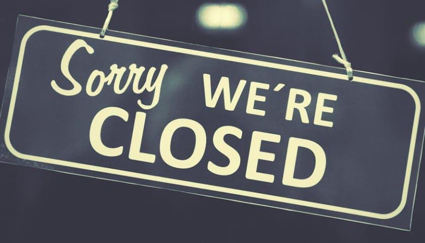 closed casinos