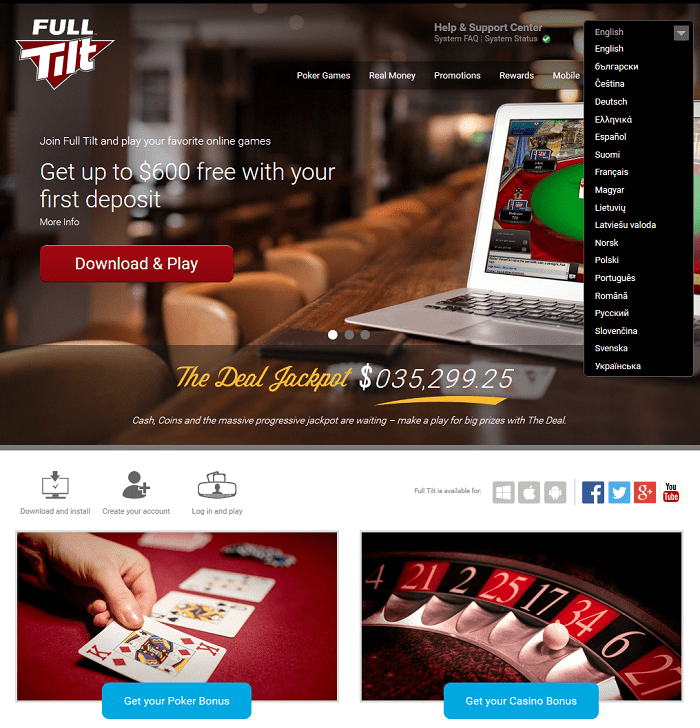 full tilt online poker review
