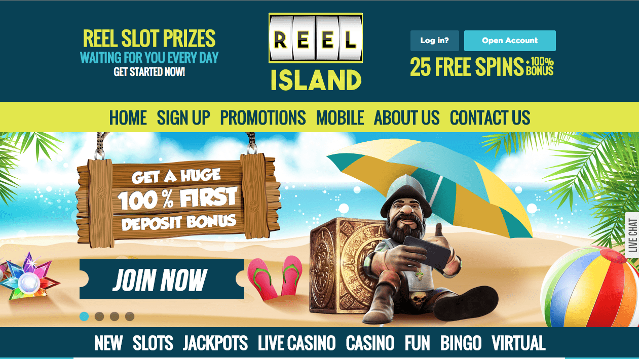 reel island casino review