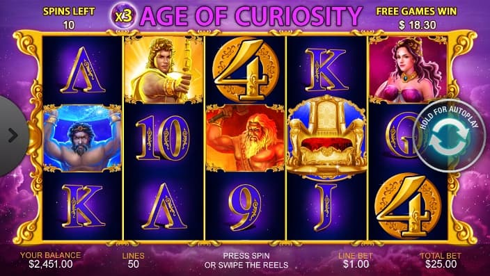age of curiosity casino game