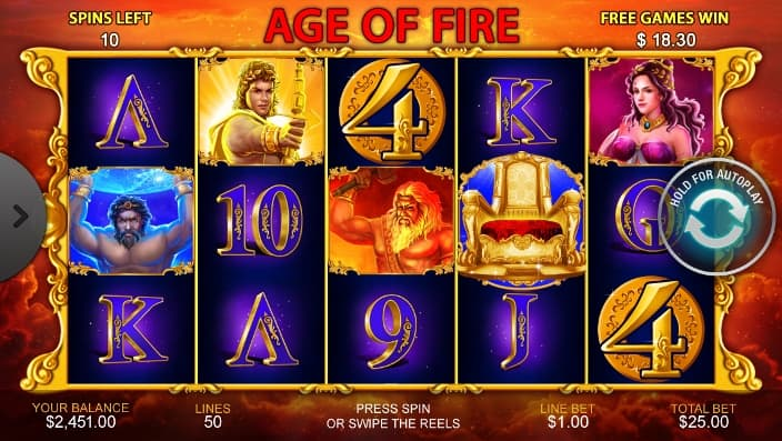 age of fire mobile casino game