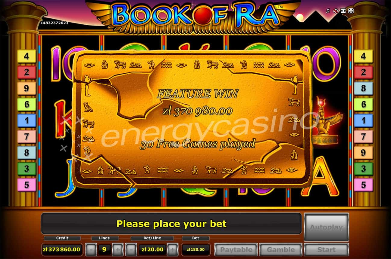 casino online for free book of ra novomatic