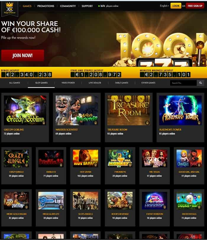 casino reviews online king casino