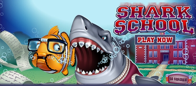 shark school slot rtg