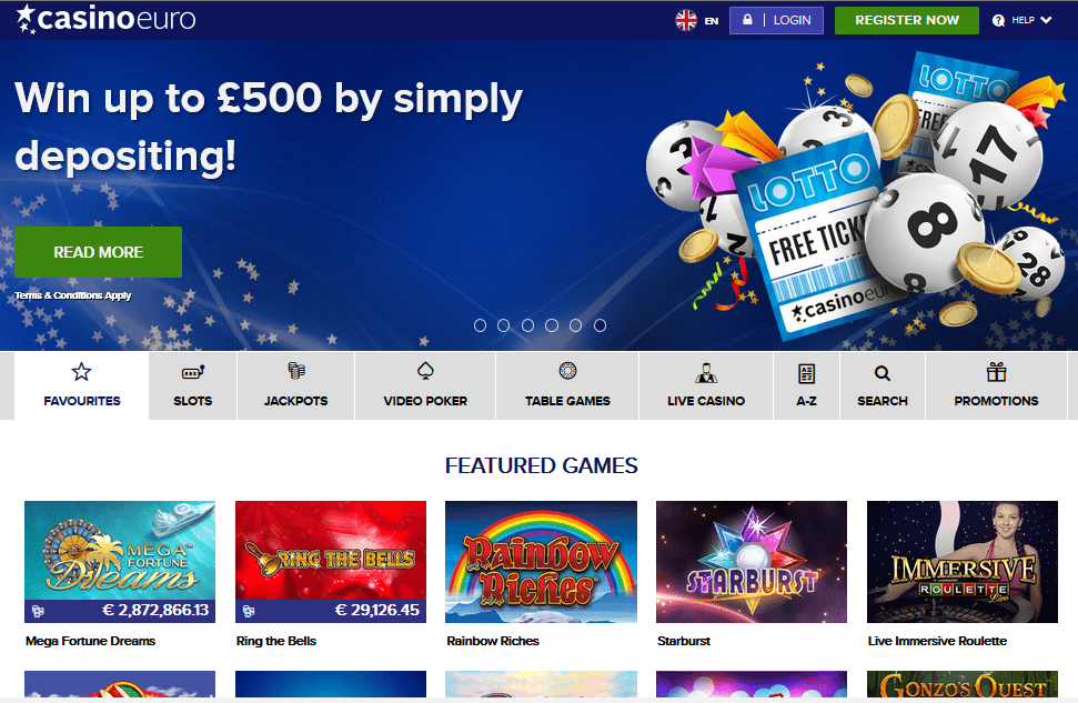 Casino Euro Casino Review