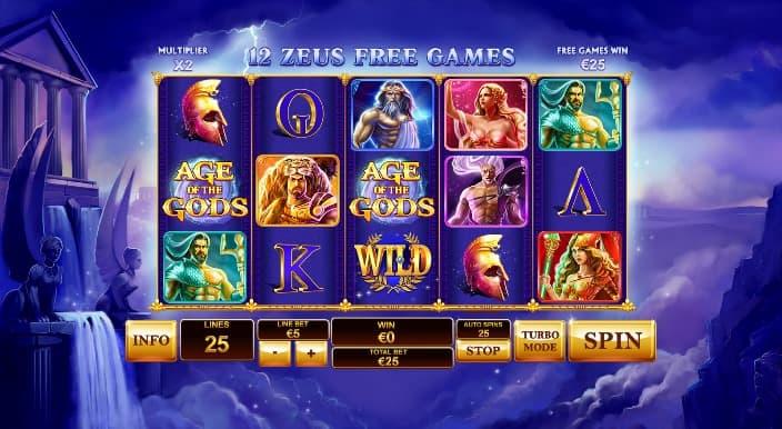 age of the gods zeus free games