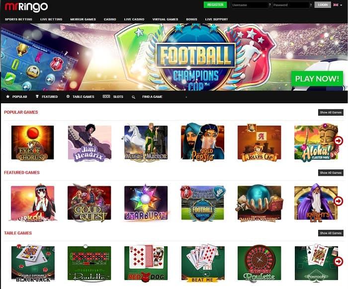 mr ringo online casino review