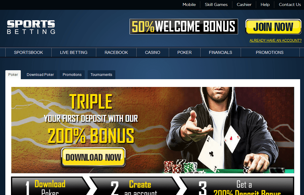 Sports Betting Poker Review