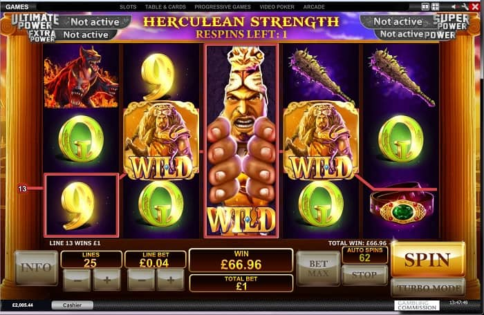age of the gods slot prince of olympus