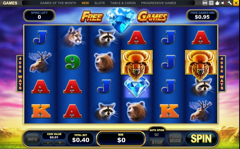 Buffalo Blitz Slot Machine Review & Free Online Demo Game