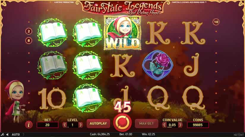 Fairytale Legends Red Riding Hood Slot Wild
