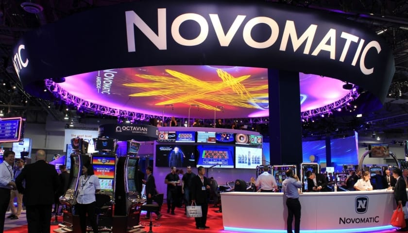 novomatic games casinos