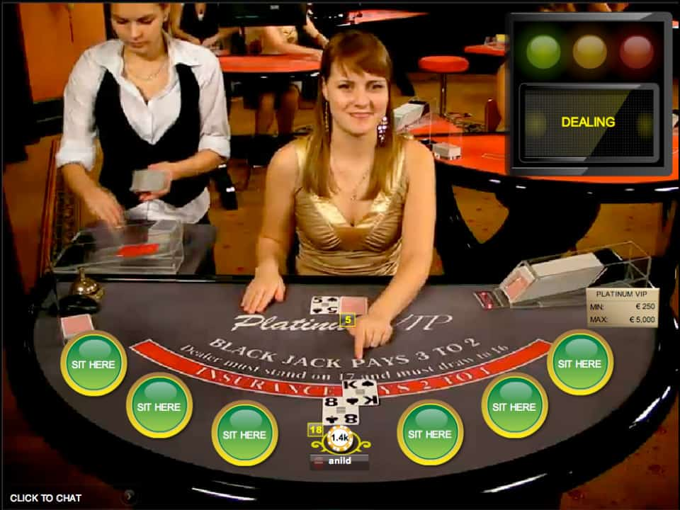 play live blackjack #1