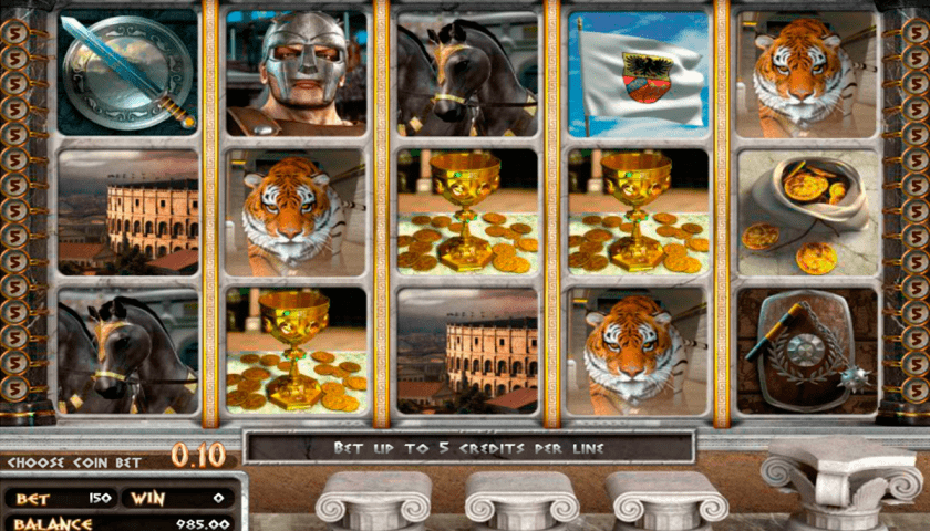 Giochi gratis slot machine gladiator