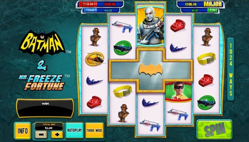 Batman & Mr. Freeze Fortune Slot - Try for Free Online