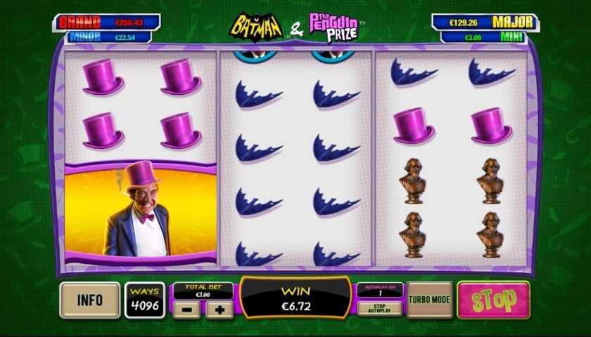 Batman and The Penguin Prize Online Slots at Casino.com NZ