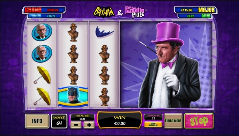 batman penguin prize slot