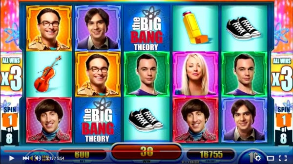 Big Bang Theory slot Aristocrat