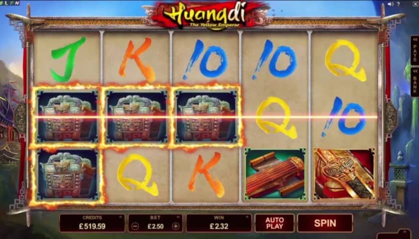 Huangdi the Yellow Emperor Slot Machine Online ᐈ Microgaming™ Casino Slots