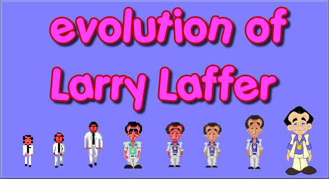 evolution of leisure suit larry