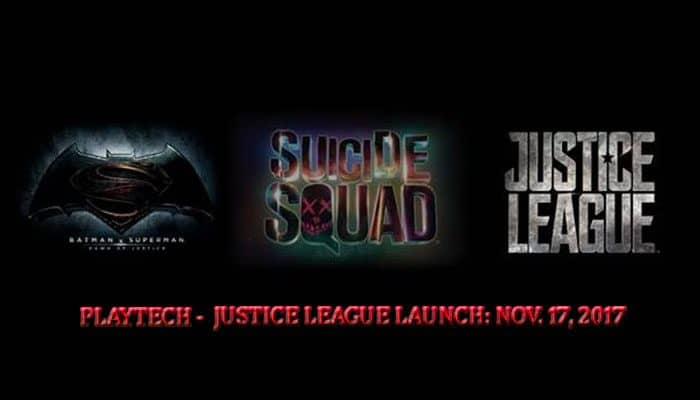Suicide Squad - Justice League Playtech