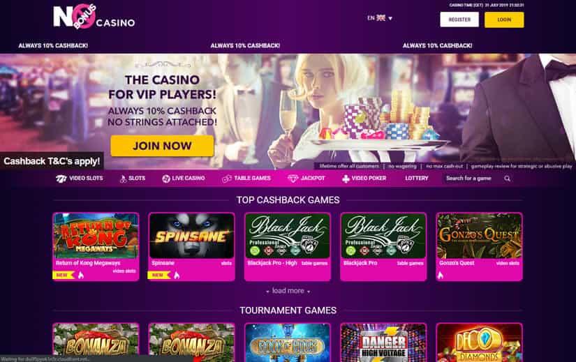 Nobonus casino Homepage