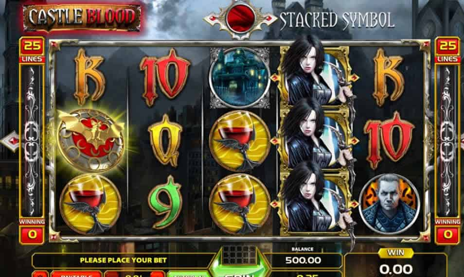 Castle Blood Slot Machine by gameart