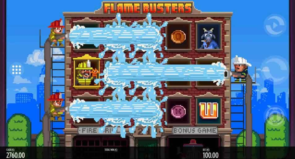 Flame Busters Slot Machine by GameArt
