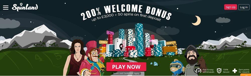 Spinland Bonus Code
