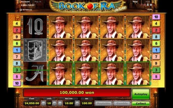 legendary slot book of ra
