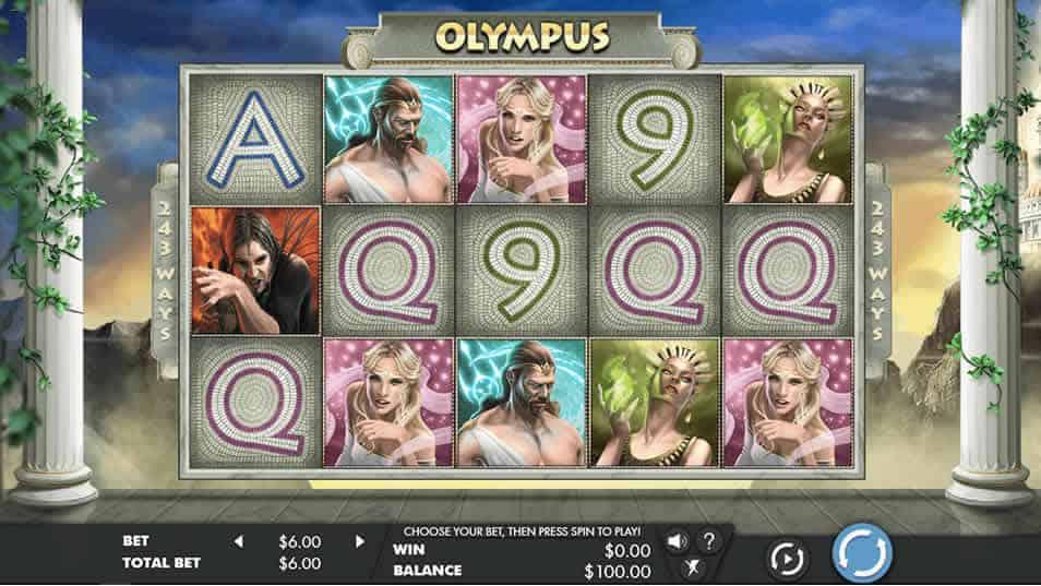 Olympus Slot Machine by Genesis