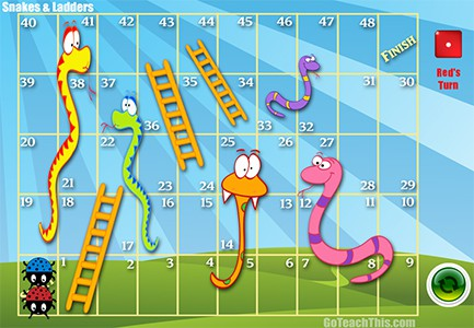 snakes and ladders online slot