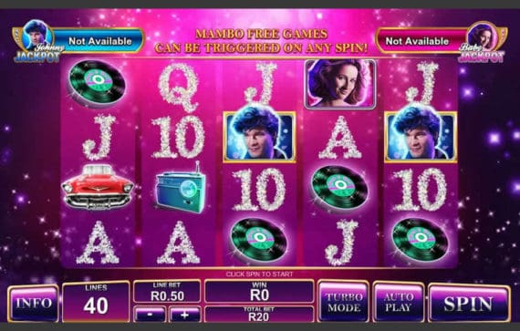 Dirty Dancing Slot Machine by Playtech