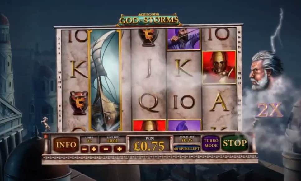 Play Age of the Gods: God of Storms Online Slots at Casino.com Canada