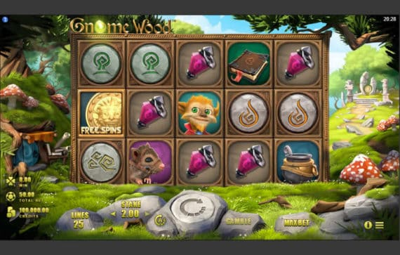 Gnome Wood Slot Machine by Microgaming