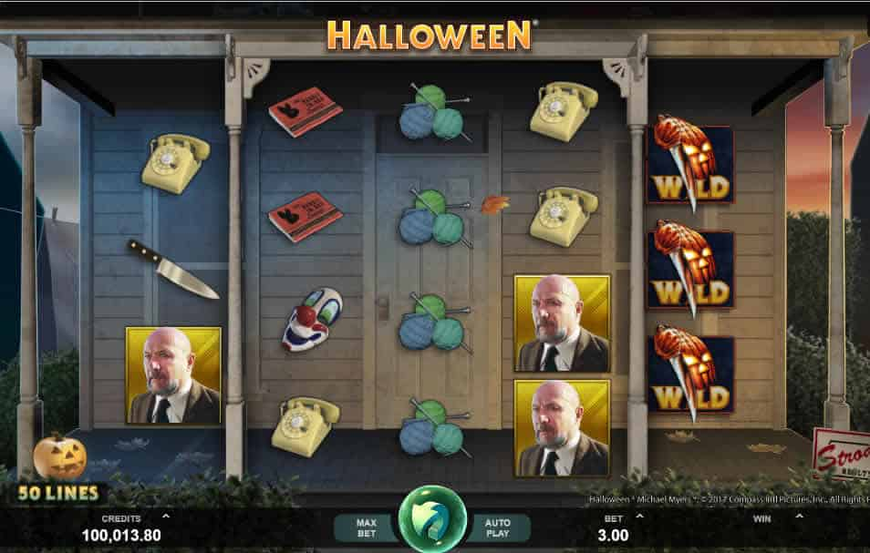 Halloween Slot Machine by Microgaming