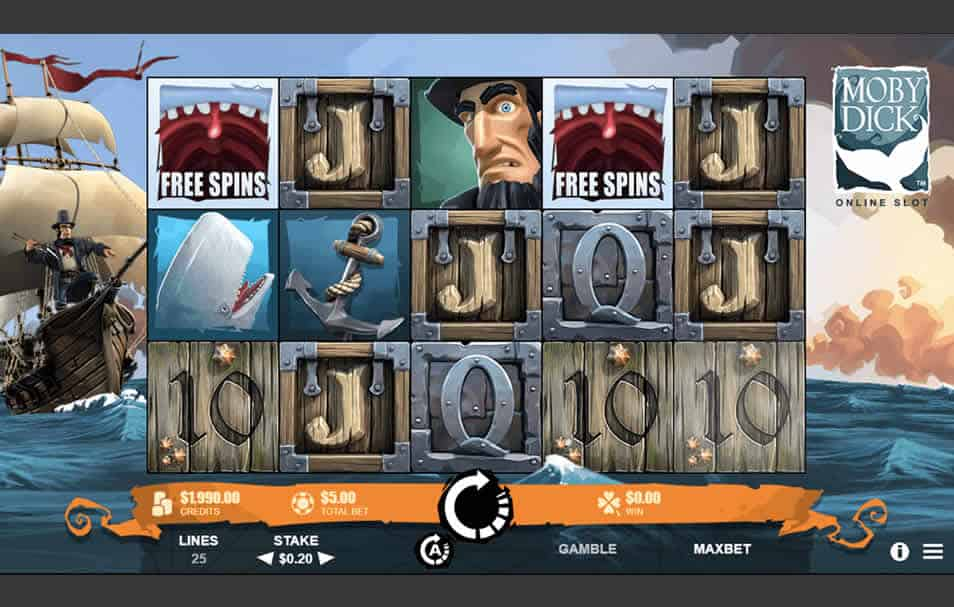 Moby Dick Slot Machine