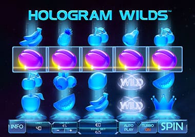 Hologram Wilds slot playtech
