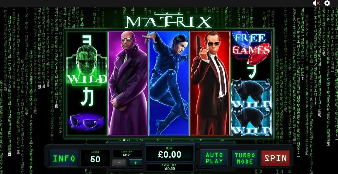 The Matrix slot Playtech
